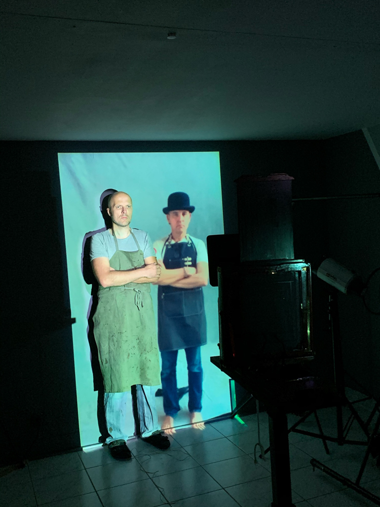 Markus_Hofstaetter_photographer_connected_wet_plate_art_project_Shane_Balkowitsch_and_me