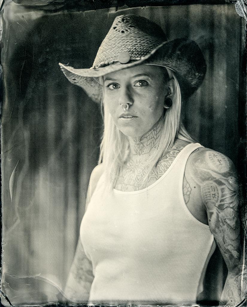 cowgirl tintype